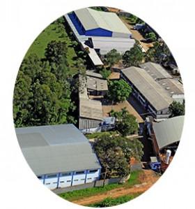 Foto aerea da empresa Ortofen